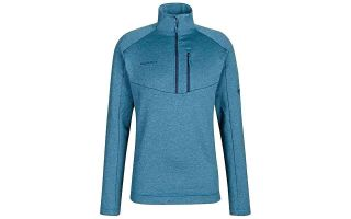 Mammut SWEATER NAIR ML HALF ZIP BLUE