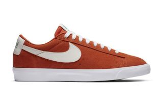 Nike BLAZER LOW GT ORANGE WHITE