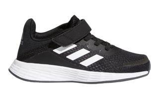 adidas DURAMO SL VELCRO BLACK WHITE BOY