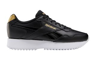 Reebok ROYAL GLIDE RIPPLE DOUBLE BLACK GOLD WOMEN