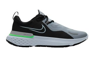 Nike REACT MILER SHIELD NEGRO GRIS CQ7888 003