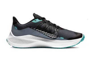 Nike WINFLO 7 SHIELD GRIS AZUL MUJER CU3868 403