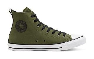 Converse CHUCK TAYLOR ALL STAR HI GREEN BLACK