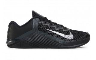 Nike METCON 6 NEGRO PLATA CK9388 001