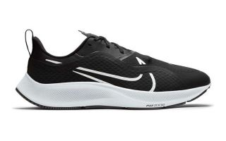 Nike AIR ZOOM PEGASUS 37 SHIELD NEGRO BLANCO CQ7935 002