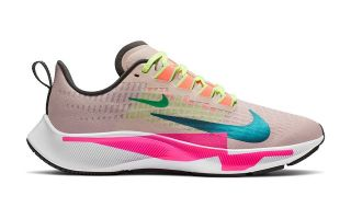 Nike AIR ZOOM PEGASUS 37 PREMIUM PINK BLUE WOMEN