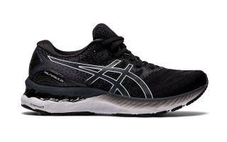 Asics GEL-NIMBUS 23 BLACK WHITE WOMEN