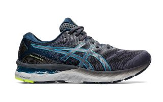 Asics GEL-NIMBUS 23 BLACK BLUE