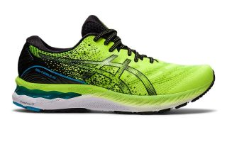 Asics GEL-NIMBUS 23 LIME BLACK