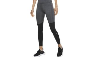 Nike LEGGINGS RUNNING BLACK