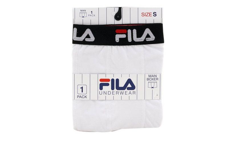BOXER FILA WHITE