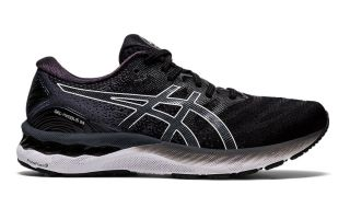 Asics GEL-NIMBUS 23 BLACK WHITE