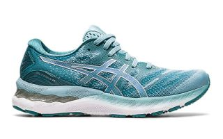 Asics GEL-NIMBUS 23 BLUE SILVER WOMEN