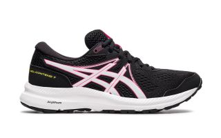 Asics GEL-CONTEND 7 NEGRO ROSA MUJER 1012A911 006