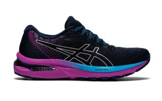 Asics GEL-CUMULUS 22 BLUE BLACK WOMEN
