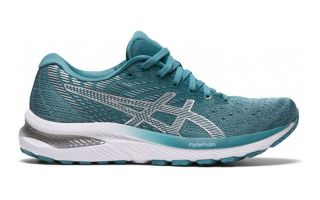 Asics GEL-CUMULUS 22 BLUE WHITE WOMEN