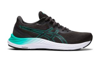 ASICS GEL-EXCITE 8 NEGRO AZUL MUJER 1012A916 005