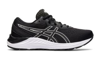 Asics GEL-EXCITE 8 GS BLACK WHITE JUNIOR