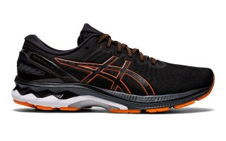 Asics GEL-KAYANO 27 SCHWARZ ORANGE 1011A767 003