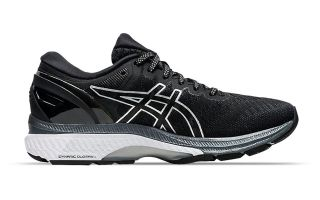 Asics GEL-KAYANO 27 BLACK WHITE WOMEN