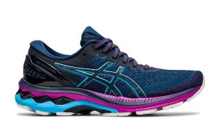Asics GEL-KAYANO 27 NAVY BLUE AQUA WOMEN