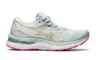Asics GEL-NIMBUS 23 WHITE SILVER WOMEN