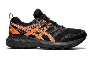 Asics GEL-SONOMA 6 GTX SCHWARZ ORANGE DAMEN 1012A921 001