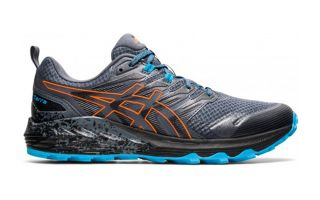 Asics GEL-TRABUCO TERRA GREY ORANGE