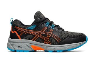 Asics GEL-VENTURE 8 GS NERO ARANCIONE JUNIOR 1014A141 005