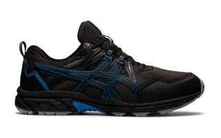 Asics GEL-VENTURE 8 WATERPROOF BLACK BLUE