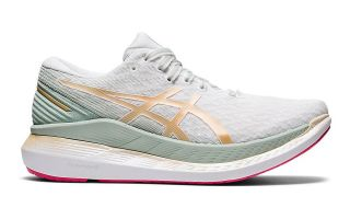 Asics GLIDERIDE 2 WHITE GOLD WOMEN