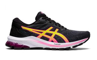 Asics GT-1000 10 NEGRO ROSA MUJER 1012A878 005
