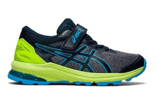 Asics GT-1000 10 PS LIME BLUE JUNIOR