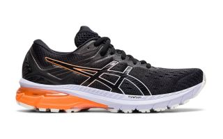 Asics GT-2000 9 BLACK ORANGE WOMEN