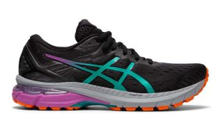 Asics GT-2000 9 TRAIL NEGRO VERDE MUJER 1012A919 001