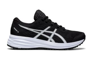 Asics PATRIOT 12 GS BLACK WHITE BOY