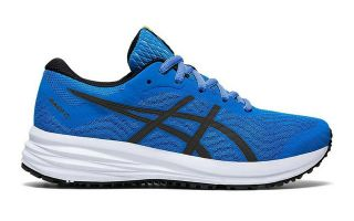 Asics PATRIOT 12 GS BLUE BLACK BOY