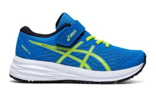 Asics PATRIOT 12 PS BLUE BLACK JUNIOR
