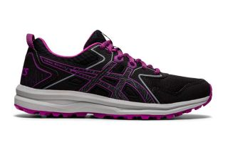Asics TRAIL SCOUT NEGRO MORADO MUJER 1012A566 005