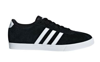 adidas COURTSET BLACK WHITE WOMEN B44619