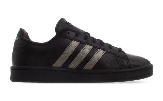 adidas GRAND COURT BLACK SILVER WOMEN EE8133