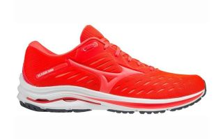 Mizuno WAVE RIDER 24 RED CORAL J1GC200364
