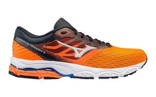 <center><b>Mizuno</b><br > <em>WAVE PRODIGY 3 ORANGE BLACK</em>