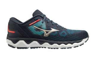 Mizuno WAVE HORIZON 5 MARINEBLAU SILBER J1GC212642