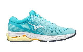 Mizuno WAVE ULTIMA 12 AQUAMARIN WEISS DAMEN J1GD211813