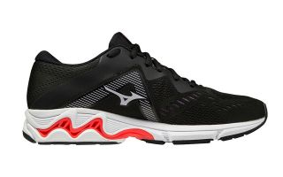 Mizuno WAVE EQUATE 5 SCHWARZ GOLD DAMEN J1GD214842