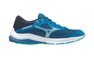 Mizuno WAVE RIDER 24 BLUE SILVER JUNIOR