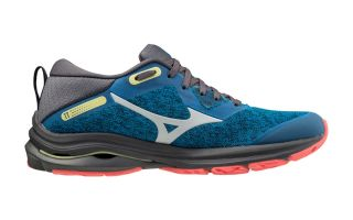 Mizuno WAVE RIDER TT 2 BLUE BLACK FOR WOMEN