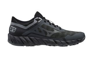 Mizuno WAVE IBUKI 3 GTX BLACK GREY WOMEN