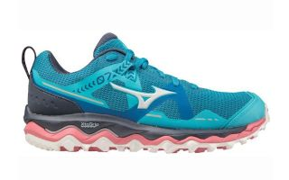 Mizuno WAVE MUJIN 7 BLUE PINK WOMEN